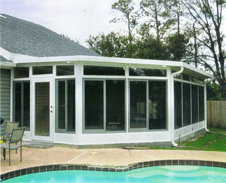 Florida screen rooms and patios home renovation